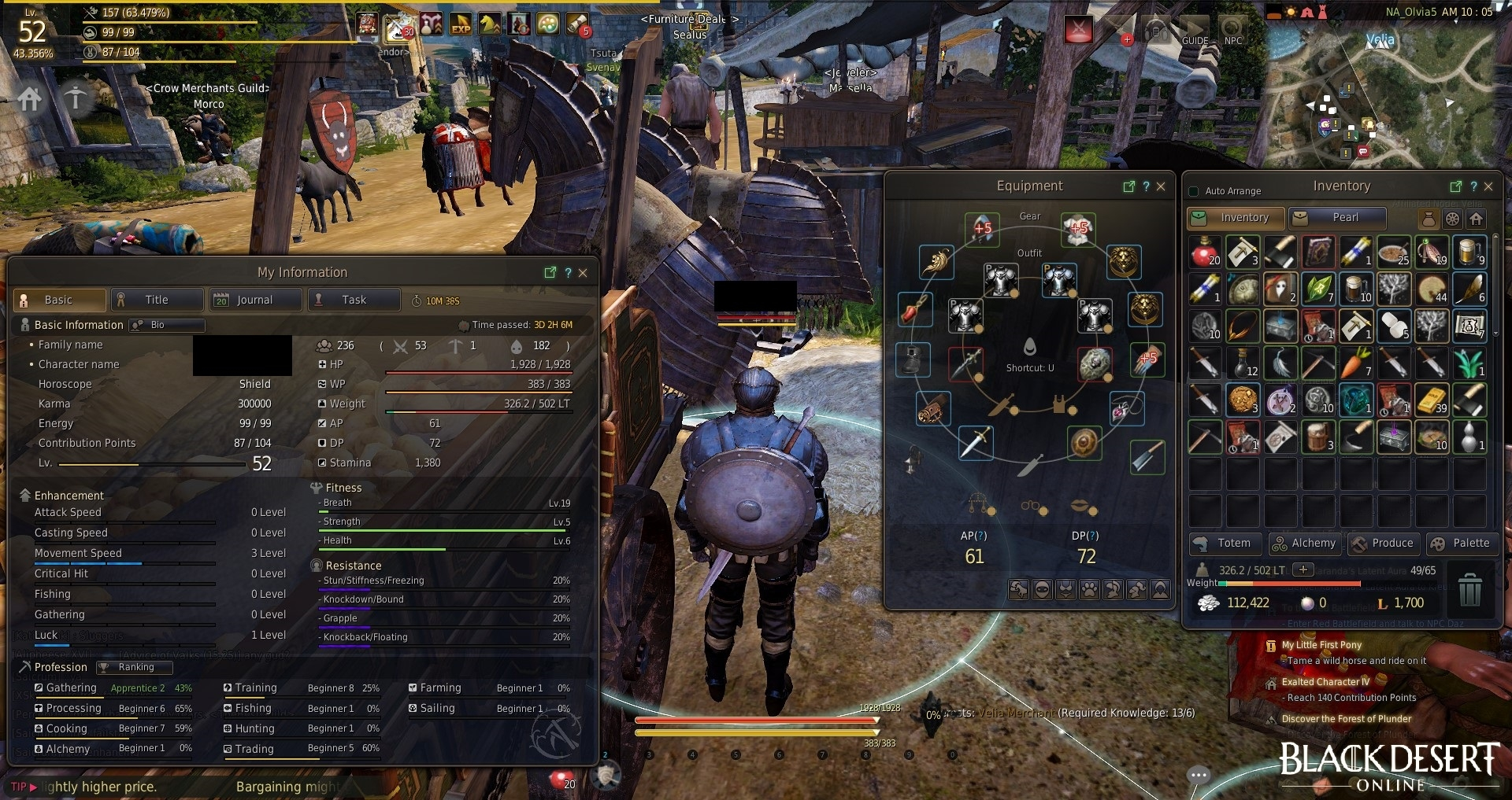 Question on gearing up — MMORPG com Forums